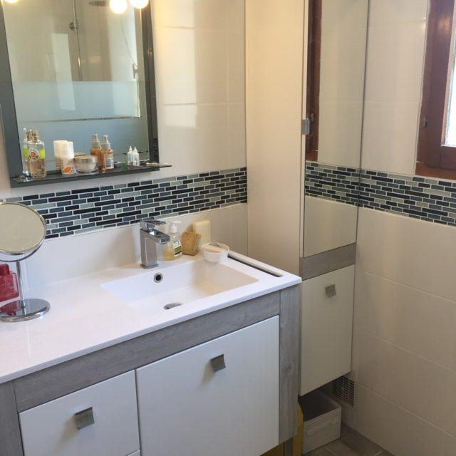 Salle de bains rénovation Aix-en-Provence