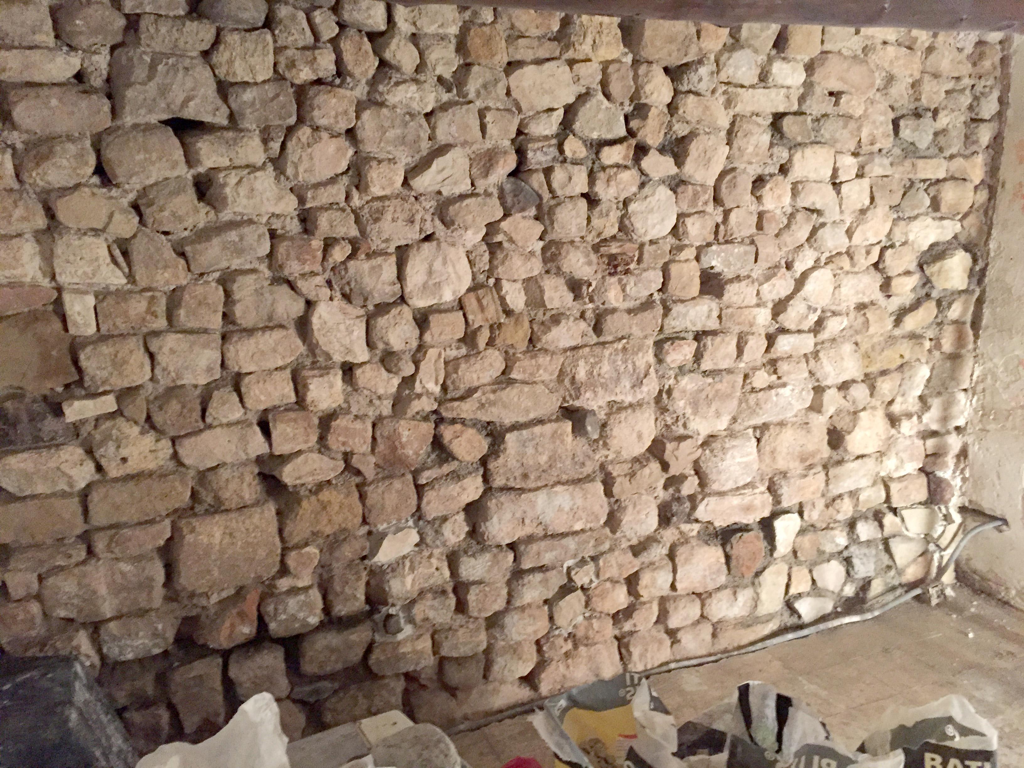 restaurer mur en pierre