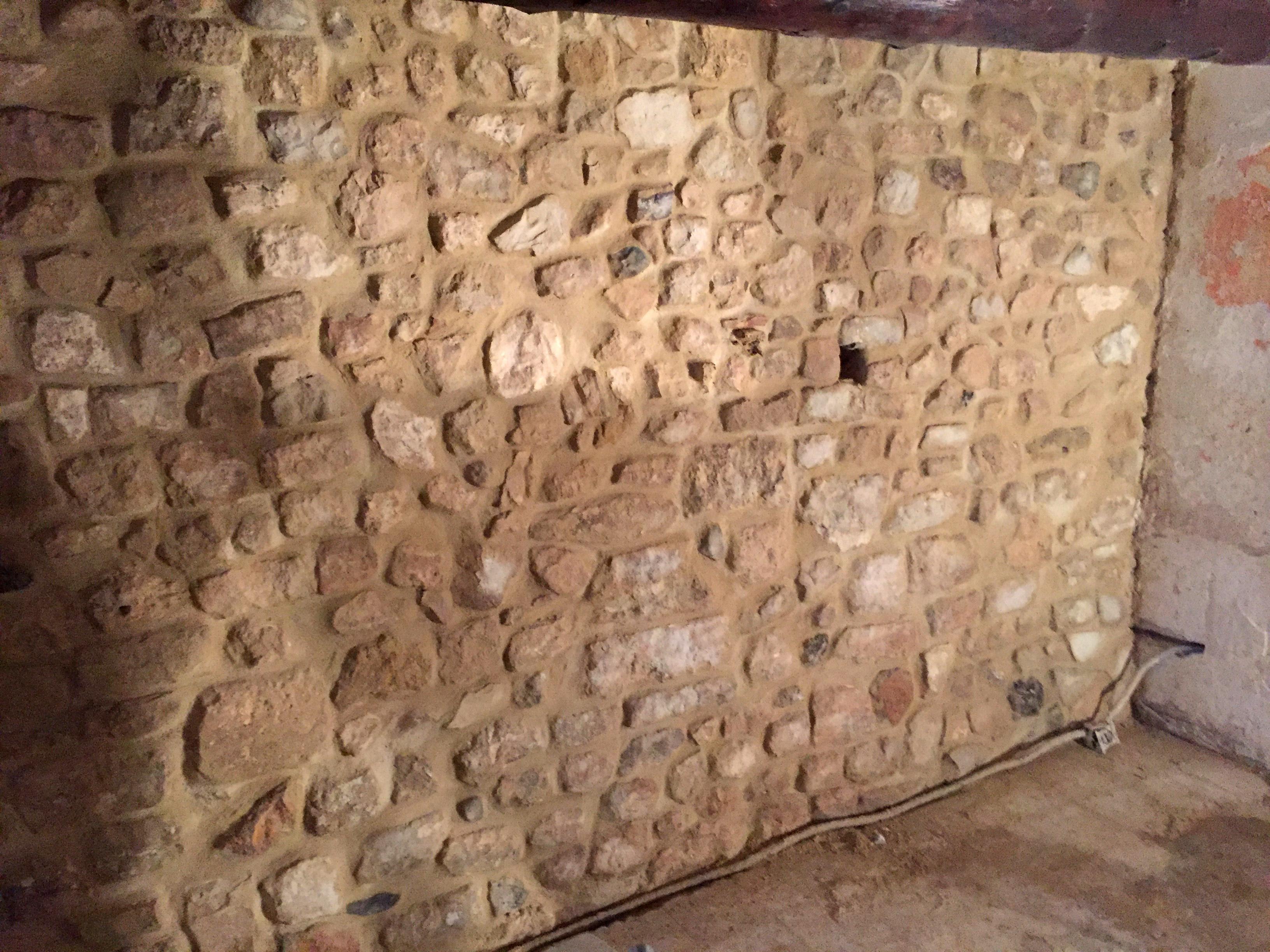 travaux mur en pierre
