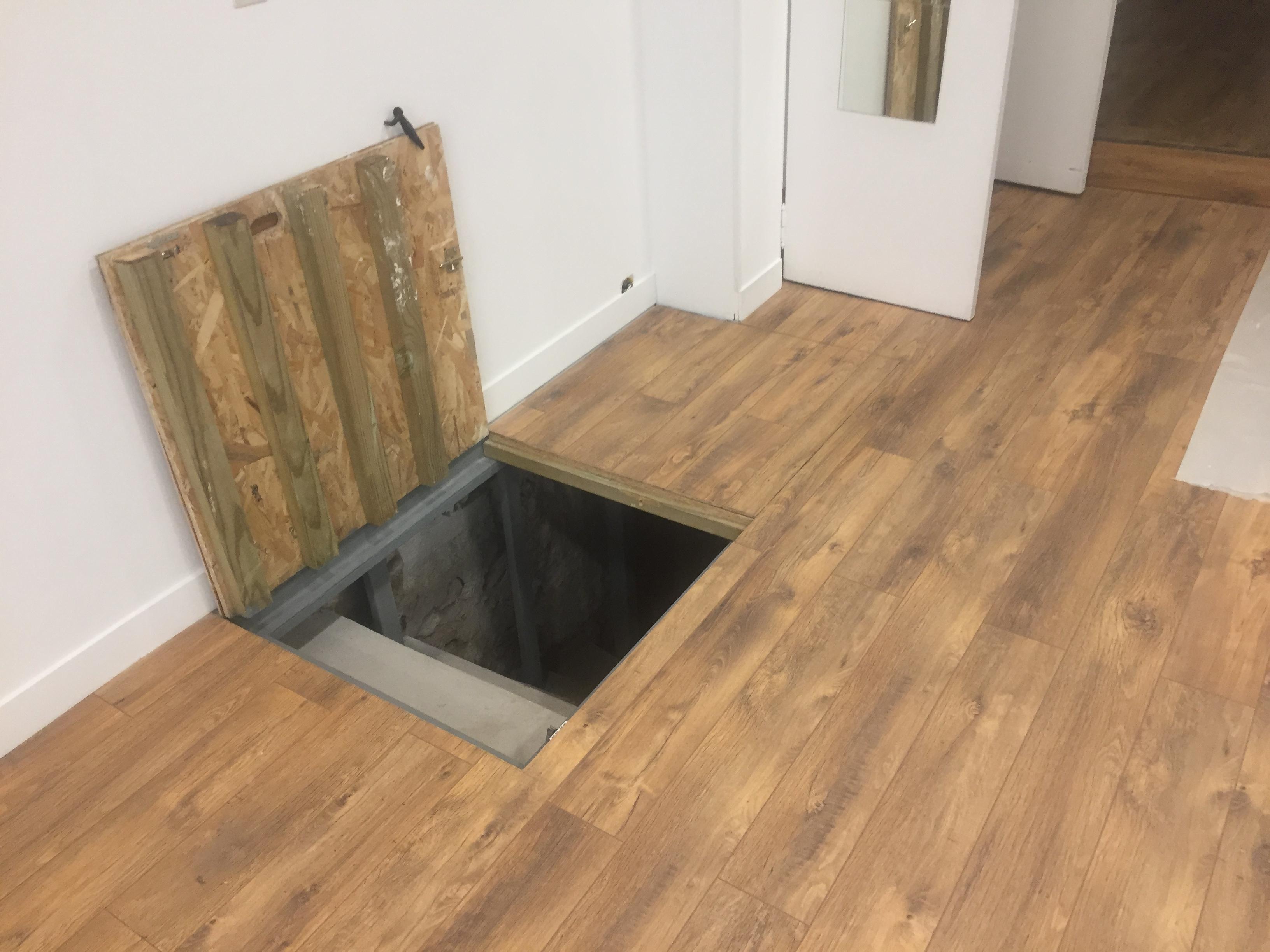 travaux trappe d'accès